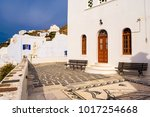 the church of panagia...   Shutterstock . vector #1017254668
