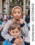 tehran  iran   april 27  2017 ...   Shutterstock . vector #1017254818
