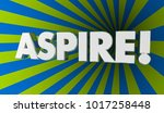 aspire hope dream aim for goal... | Shutterstock . vector #1017258448