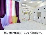 interior children's room...   Shutterstock . vector #1017258940