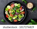 Healthy Vegetable Salad Of...