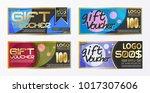 polygon modern brochure vector... | Shutterstock .eps vector #1017307606
