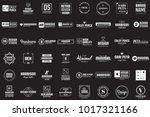 minimal vector shape for banner ... | Shutterstock .eps vector #1017321166