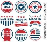 american vector label for... | Shutterstock .eps vector #1017322720