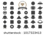 vintage retro vector logo for... | Shutterstock .eps vector #1017323413