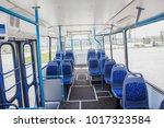Internal View Of An Empty Bus...