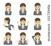 business woman   Shutterstock .eps vector #101733406