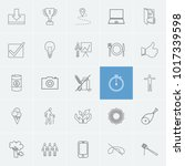 pack icons set with allergen ...