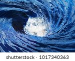 The Raging Whirlpool On Surface ...