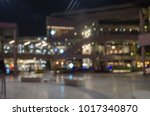 blur shopping mall in... | Shutterstock . vector #1017340870