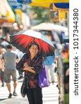 new york  usa   september 10 ... | Shutterstock . vector #1017344380