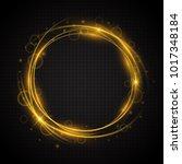 glow light swirl trail. slow... | Shutterstock .eps vector #1017348184