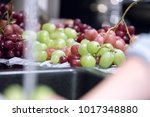 view of the green and red... | Shutterstock . vector #1017348880