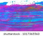 magenta and cyan color abstract ... | Shutterstock . vector #1017365563