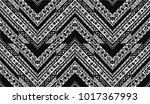 geometric folklore ornament.... | Shutterstock .eps vector #1017367993