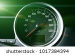 clean console modern car  speed ...   Shutterstock . vector #1017384394