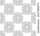 black and white illustration...   Shutterstock .eps vector #1017386074