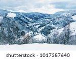 winter landscape in the...   Shutterstock . vector #1017387640