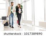 full length portrait of... | Shutterstock . vector #1017389890