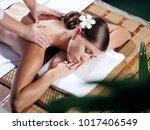 portrait of young beautiful...   Shutterstock . vector #1017406549