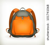 backpack  vector   Shutterstock .eps vector #101741068