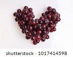 Hearth Purple Grape Shape On...