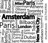 cities of the world seamless... | Shutterstock .eps vector #1017414904