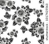 abstract elegance seamless... | Shutterstock .eps vector #1017425563