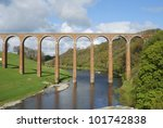 Old Bridge Over River Tweed...