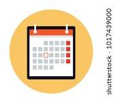 calendar vector design