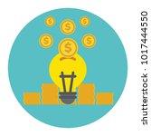 crowd funding vector | Shutterstock .eps vector #1017444550