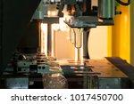 pet plastic tubes in plastic... | Shutterstock . vector #1017450700