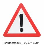 exclamation mark sign generic... | Shutterstock . vector #101746684