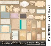 vector large scrapbooking set... | Shutterstock .eps vector #101746834