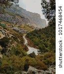 wide angle view of 'el caminito ... | Shutterstock . vector #1017468454
