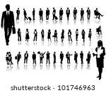 business people | Shutterstock .eps vector #101746963