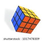 minsk  belarus   4 february ... | Shutterstock .eps vector #1017478309
