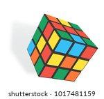 minsk  belarus   4 february ... | Shutterstock .eps vector #1017481159