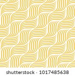 the geometric pattern with wavy ... | Shutterstock .eps vector #1017485638
