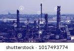 conceptual image of industry 4... | Shutterstock . vector #1017493774