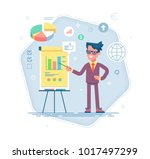confident young man standing... | Shutterstock .eps vector #1017497299