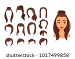 vector cartoon style... | Shutterstock .eps vector #1017499858