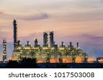gas turbine electrical power... | Shutterstock . vector #1017503008