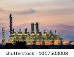 gas turbine electrical power... | Shutterstock . vector #1017503008