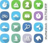 flat vector icon set  ... | Shutterstock .eps vector #1017516559