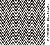 seamless zig zag geometric... | Shutterstock .eps vector #1017531250