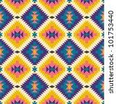 seamless texture in navajo... | Shutterstock .eps vector #101753440