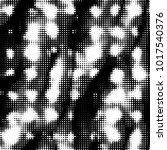 abstract grunge grid polka dot... | Shutterstock .eps vector #1017540376