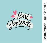 Vector Best Friends Poster....