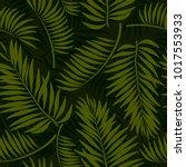 tropical summer seamless... | Shutterstock .eps vector #1017553933